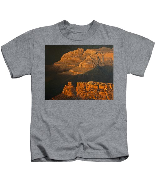 Grand Canyon Meditation Kids T-Shirt by Jim Thomas
