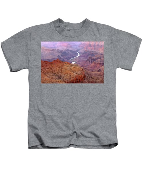 Grand Canyon River View Kids T-Shirt