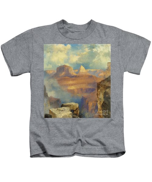 Grand Canyon Kids T-Shirt by Thomas Moran