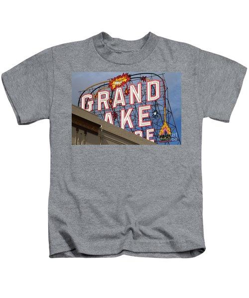 Grand Lake Theatre . Oakland California . 7d13495 Kids T-Shirt