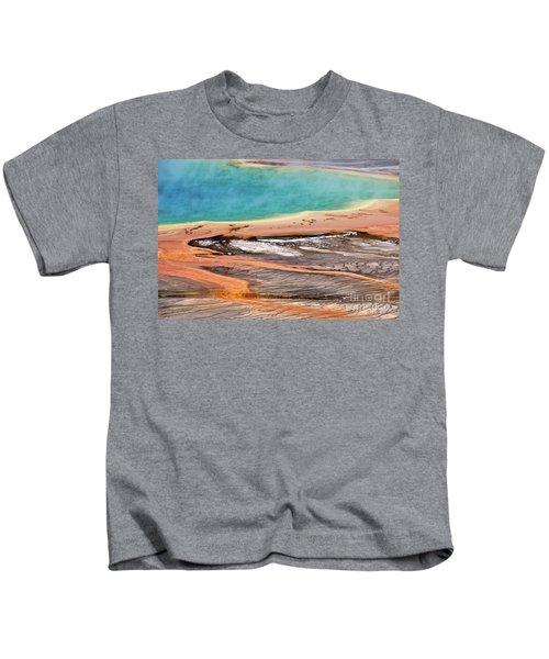 Grand Prismatic Spring Kids T-Shirt