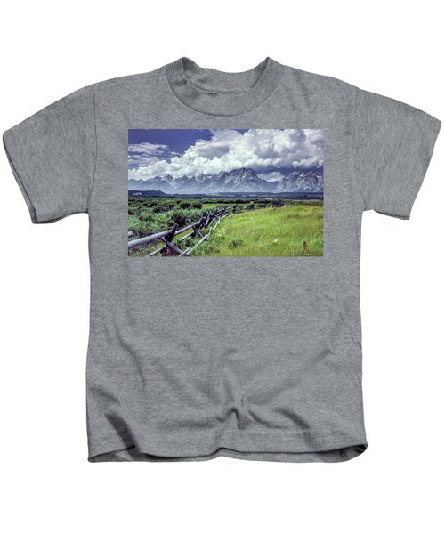 Grand Tetons Kids T-Shirt