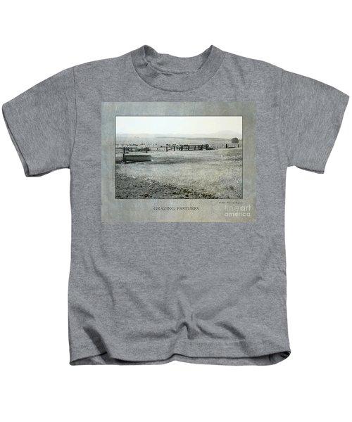 Grazing Pastures Kids T-Shirt