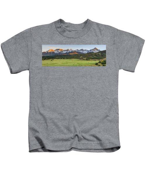 Grazing Under Sneffels Kids T-Shirt