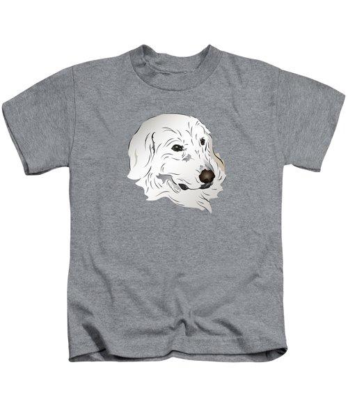Great Pyrenees Dog Kids T-Shirt