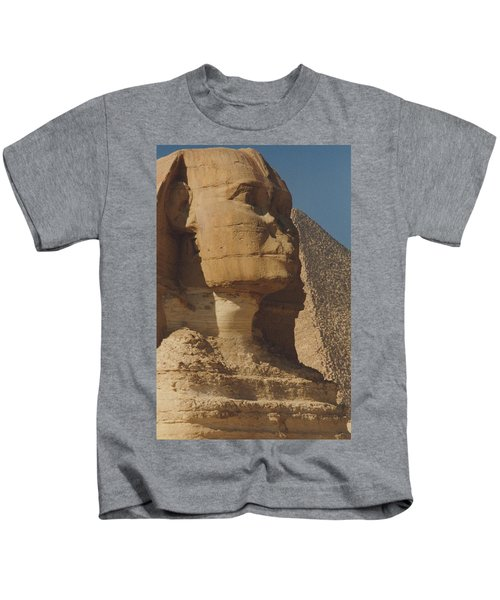 Great Sphinx Of Giza Kids T-Shirt
