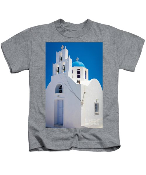 Greek Chapel Kids T-Shirt