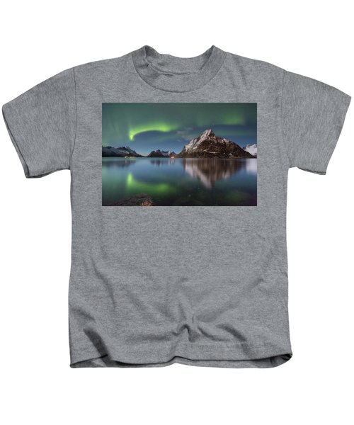 Green Reflection Kids T-Shirt