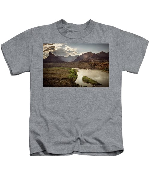 Green River, Utah Kids T-Shirt