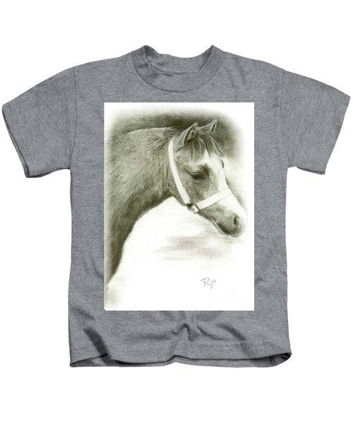 Grey Welsh Pony  Kids T-Shirt