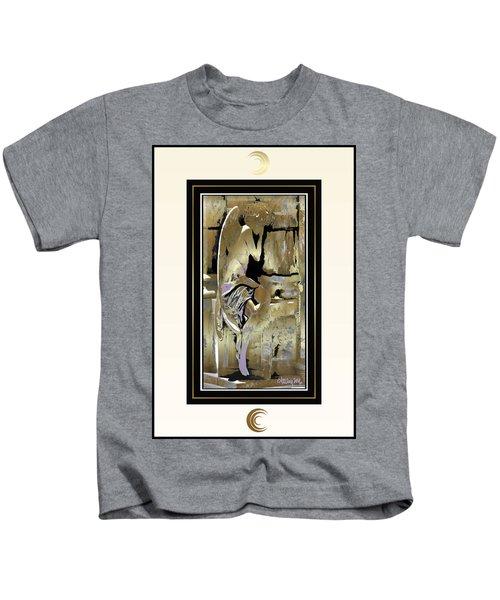 Grief Angel - Light Border Kids T-Shirt