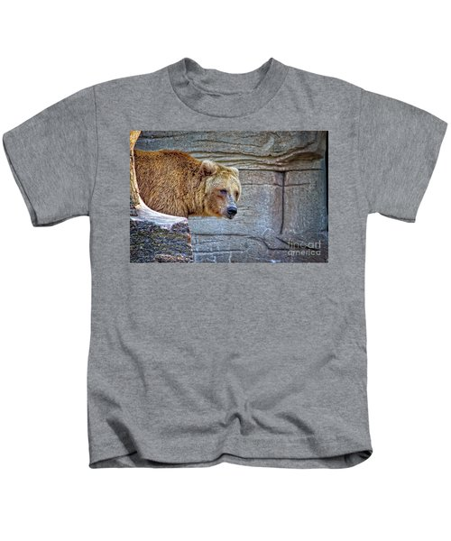 Grizzly Bear Kids T-Shirt