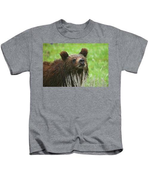 Grizzly Cub Kids T-Shirt