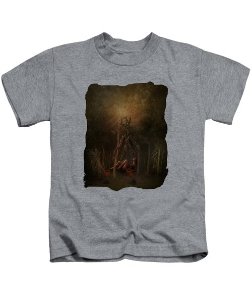 Guardians Of The Forest Kids T-Shirt by Terry Fleckney