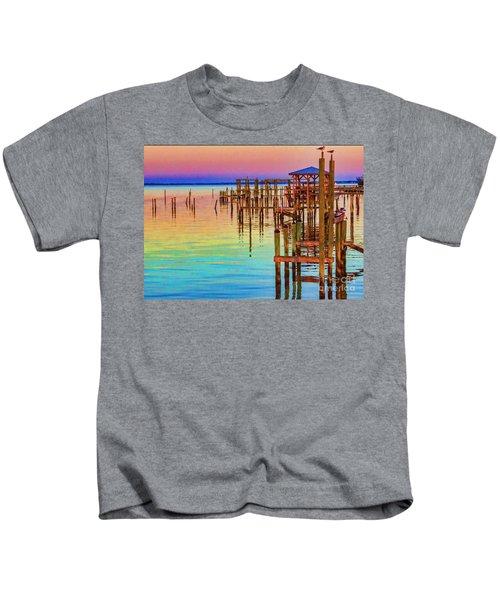 Guarding The Dock Kids T-Shirt
