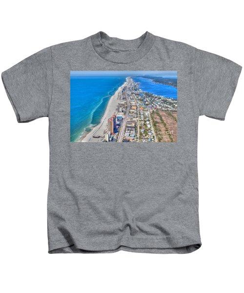 Gulf Shores Beach Looking W Kids T-Shirt