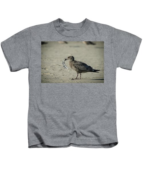 Gull And Feather Kids T-Shirt