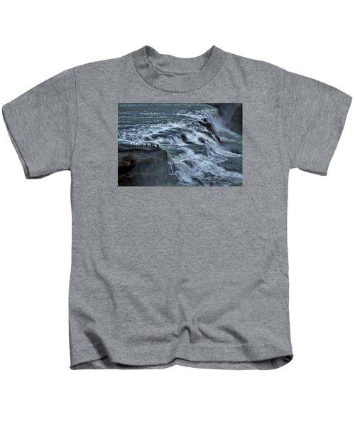 Gullfoss Waterfall #6 - Iceland Kids T-Shirt