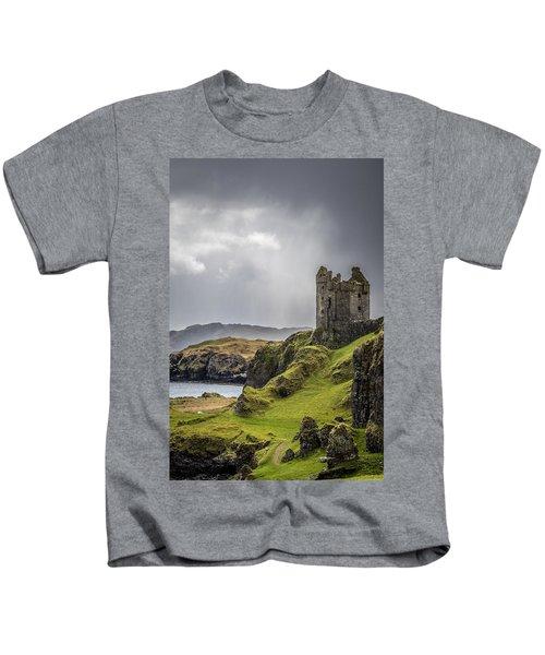 Gylen Castle On Kerrera In Scotland Kids T-Shirt