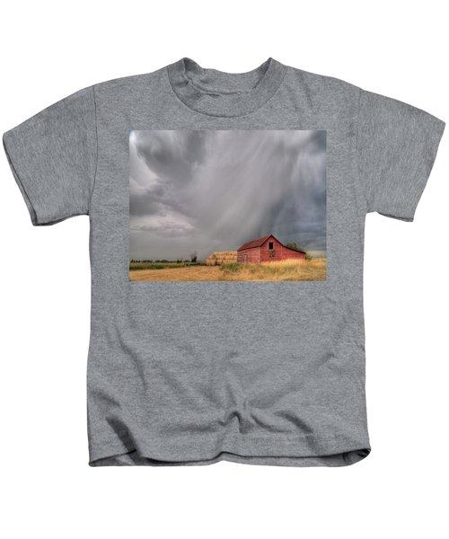 Hail Shaft And Montana Barn Kids T-Shirt