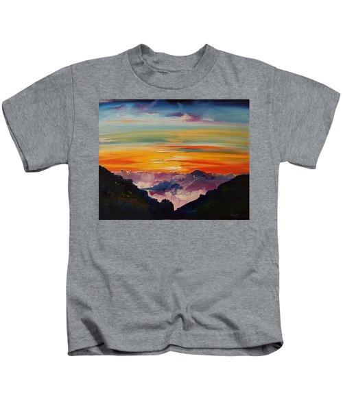 Haleakala Volcano Sunrise In Maui      101 Kids T-Shirt