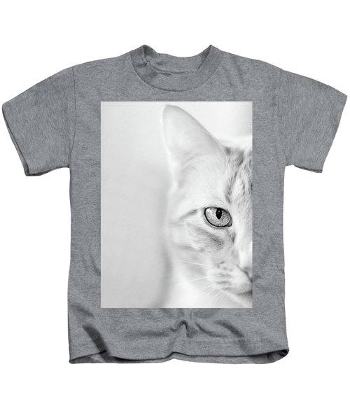 Half Cat Kids T-Shirt