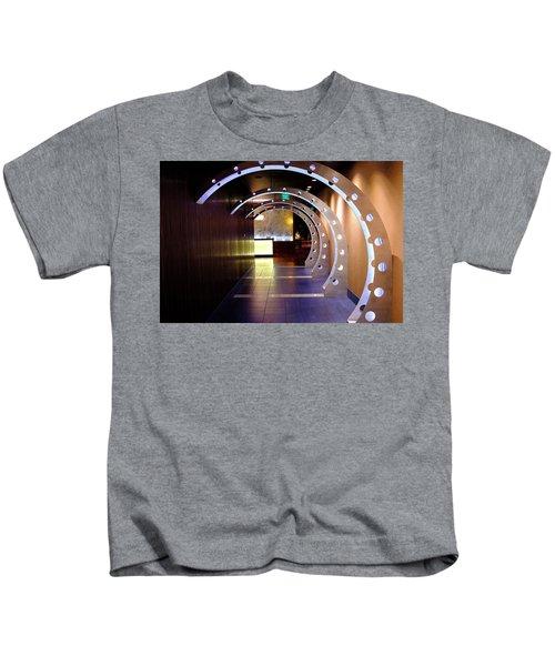 Hallway Leading To A Bar In Orlando Florida Kids T-Shirt