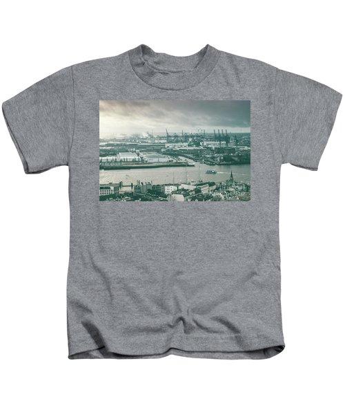 Hamburg Port  Kids T-Shirt