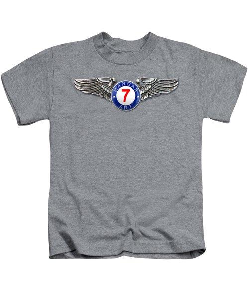 Hangar 7 Art Logo Kids T-Shirt