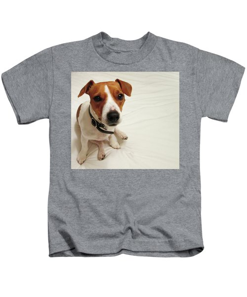 Happiness Is A Cute Puppy Kids T-Shirt
