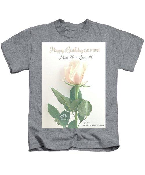 Happy Birthday Gemini Kids T-Shirt