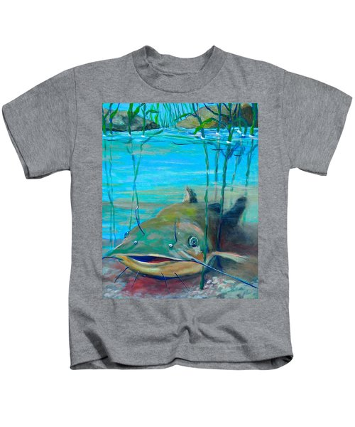 Happy Catfish Kids T-Shirt