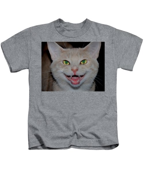 Happy For Spring Cat Kids T-Shirt