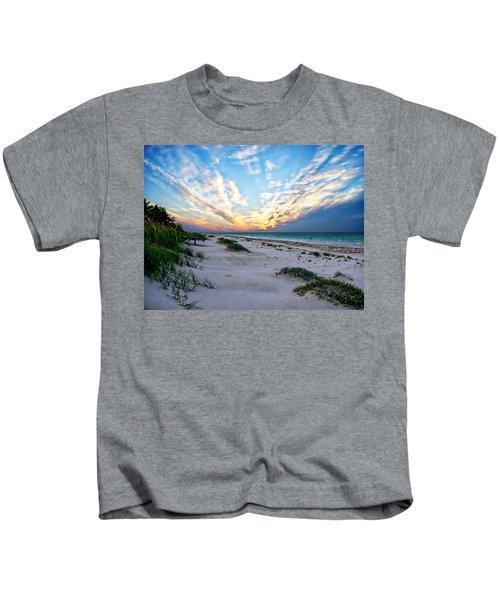 Harbor Island Sunset Kids T-Shirt