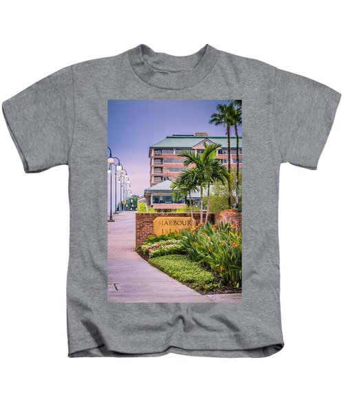 Harbour Island Retreat Kids T-Shirt