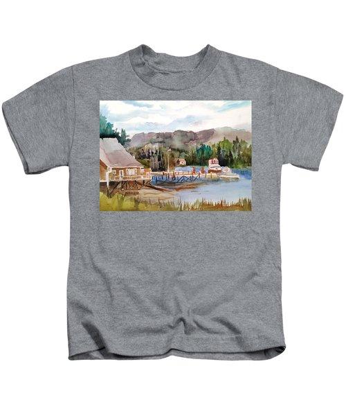 Harbour Scene Kids T-Shirt