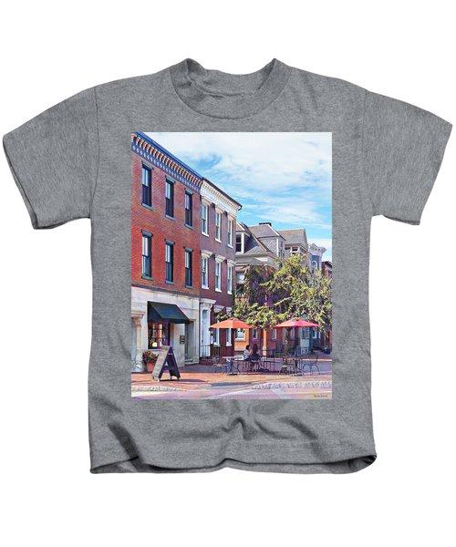 Harrisburg Pa - Coffee Shop Kids T-Shirt