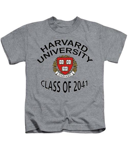 Harvard University Class Of 2041 Kids T-Shirt