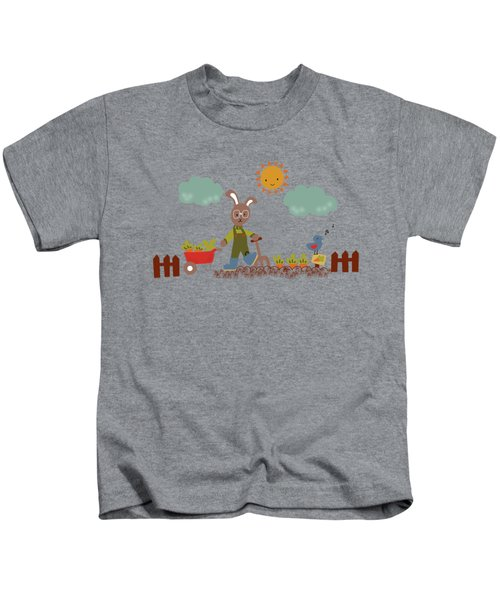 Harvest Time Kids T-Shirt by Kathrin Legg