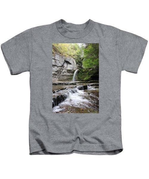 Eagle Cliff Falls II Kids T-Shirt