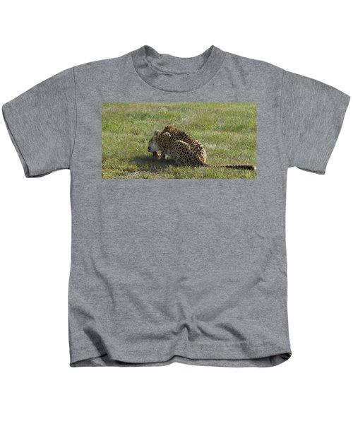 Having Lunch Kids T-Shirt