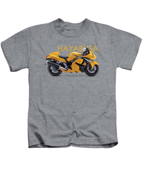 Hayabusa In Yellow Kids T-Shirt