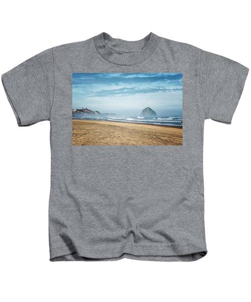 Haystack Rock Pacific City Kids T-Shirt