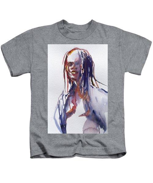 Head Study 3 Kids T-Shirt