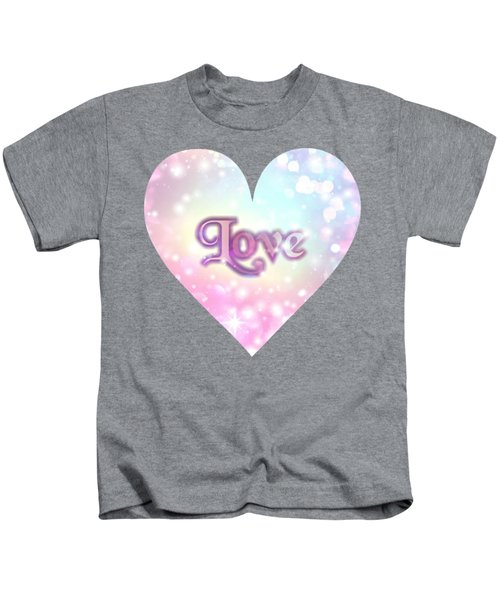 Heart Of Love Kids T-Shirt