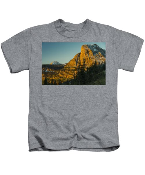 Heavy Runner Mountain Kids T-Shirt