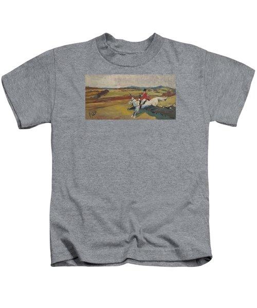 Hedge Hopping Britain Kids T-Shirt