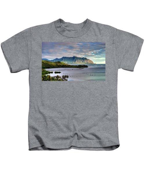 He'eia Fish Pond And Kualoa Kids T-Shirt
