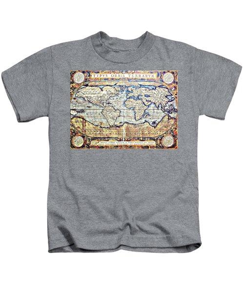 Hemisphere World  Kids T-Shirt