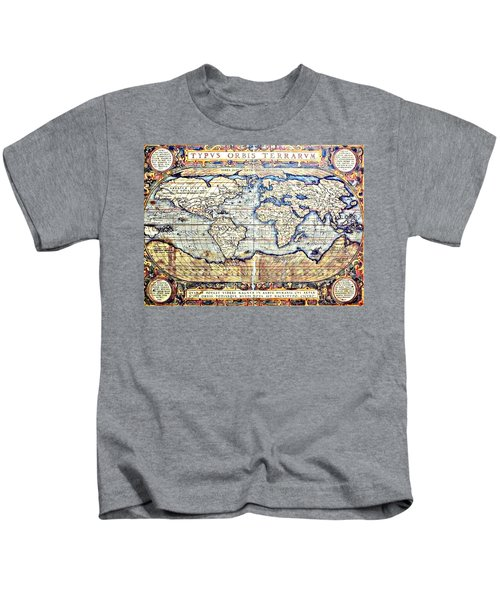 Hemisphere World  Kids T-Shirt